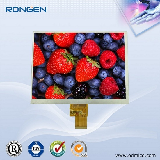 8 Tft Lcd Panel 1024 768 Industrial Monitor Display