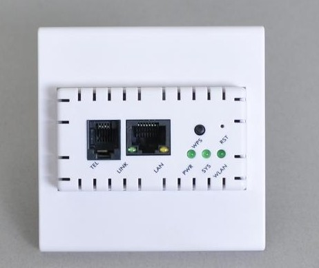 802 3 11b N G Wireless Inwall Ap For Hotel