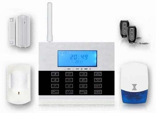 868mhz Touch Keypad Burglar Alarm System Fs Am231