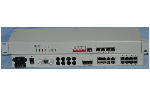 8channel Pots Over Fiber Multiplexer
