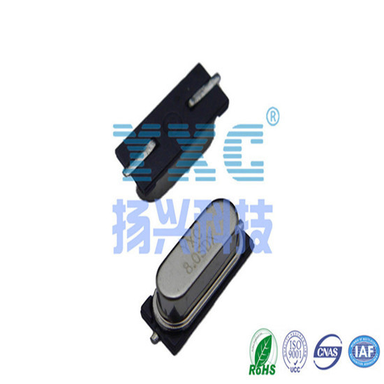 8mhz Crystal 49s Smd 20pf 20ppm Quartz Resonator