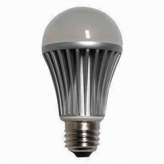 8w High Voltage Led A19 Bulb With 590 To 680lm Luminous Flux