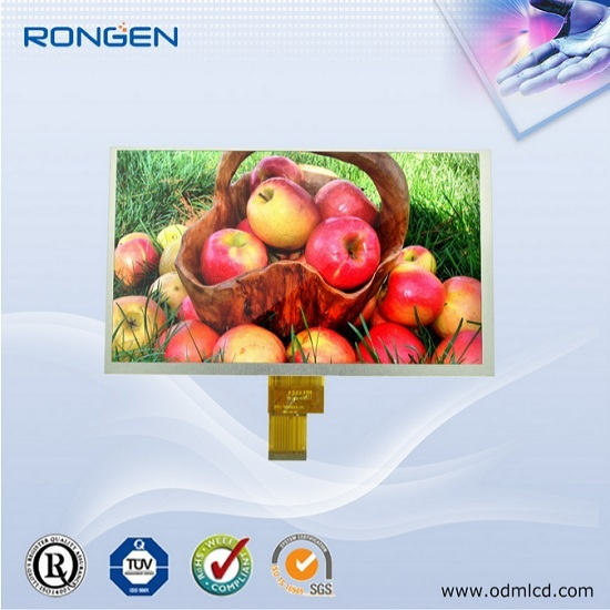 9 Tft Lcd Panel 1024 600 Industrial Monitor Media Player Display