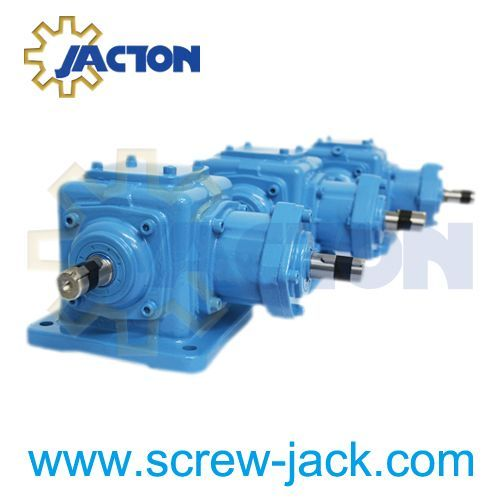 90 Degree T Type Jt Series Spiral Bevel Gearboxes