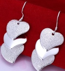 925 Sterling Silver Earring Fashion Jewelry
