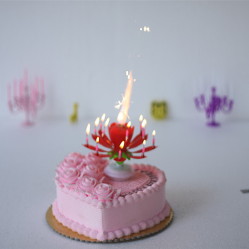 A88008 Double Layer Music Candle