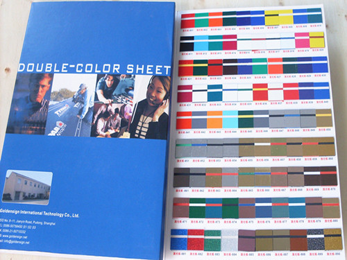 Abs Double Color Sheet Shanghai Manufacturer Goldensign