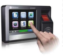Ac600t Touch Screen Access Control Time Attendance Terminal