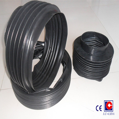 Accordion Type Pvc Cloth Cylinder Bellows