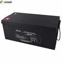 Accumulator Deep Cycle 12v 250ah Gel Battery With Solar Storage