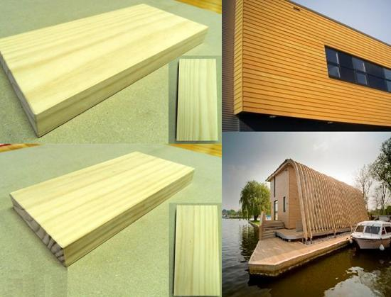 Acetylated Wood Outdoor Application Cladding Siding Decking