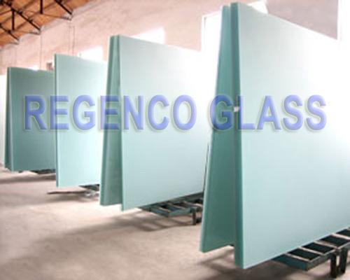 Acid Etched Flat Glass