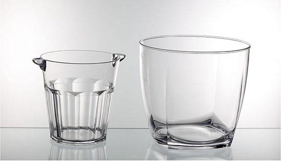 Acrylic Ice Buckets Bw1