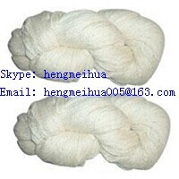 Acrylic Yarn Raw White Or Dyed In Hanks