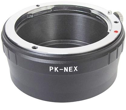 Adapter Ring For Pentax Pk Lens To Sony E Mount Nex 5 7 5n Vg10