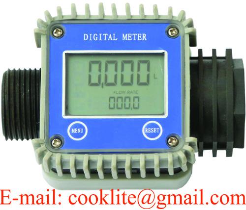 Adblue Flow Meter Digital Chemical