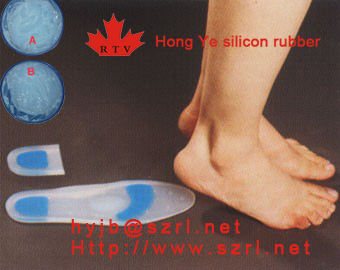 Addition Cured Silicon Rubber For Insole