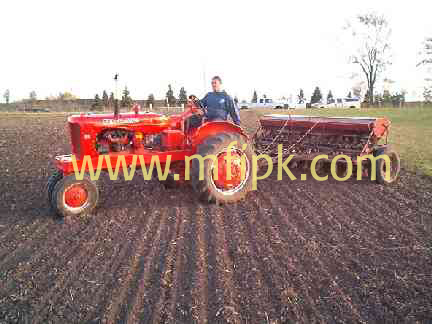 Advance Cotton Seed Drill