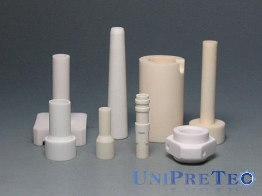 Advanced Al2o3 Ceramic Temperature Corrosion Resistance Nozzles