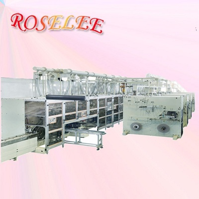 Advanced Sanitary Napkin Production Line