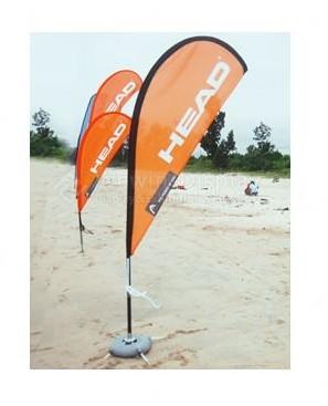 Advertising Aluminum Beach Flag
