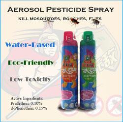 Aerosol Pesticide Insecticide Spray