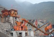 Aggregated Rock Complete Crusher Plant
