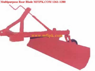 Agriculture Mounted Rear Blade