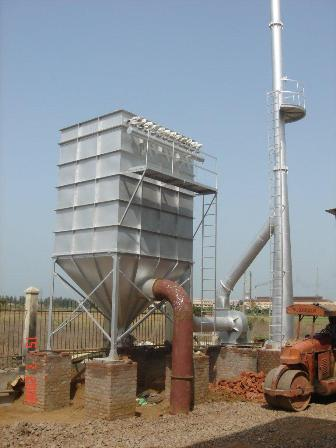 Air Pollution Control Device For Bras Recycling Plant