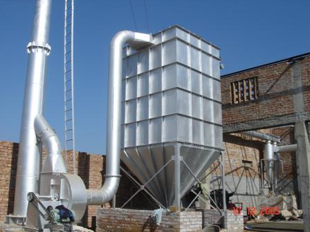 Air Pollution Control Device For Copper Recycling Plant