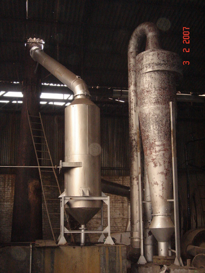 Air Pollution Control Device For Re Rolling Mill