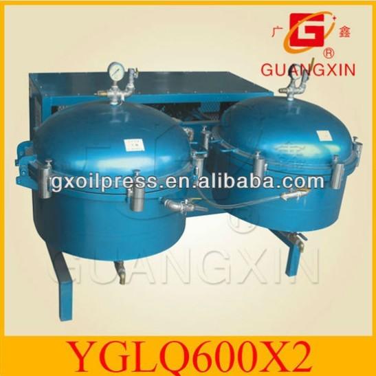 Air Pressure Tank Filter Press Yglq600 2