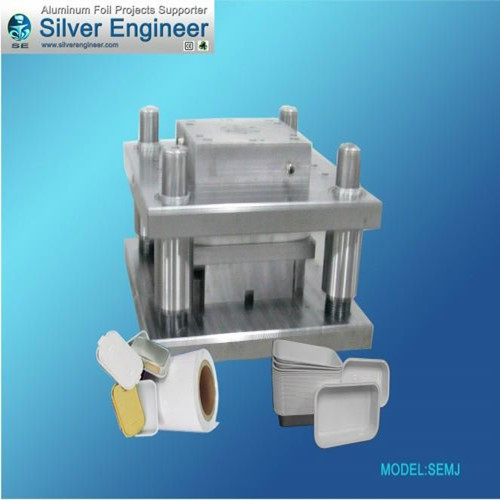 Airline Smooth Wall Container Mould 65288 L159 W106 H30 65289
