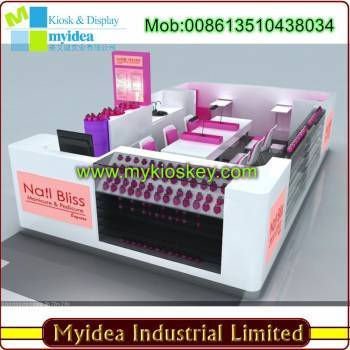All Kind Nail Stations Customized Manicure Pedicure Kiosk