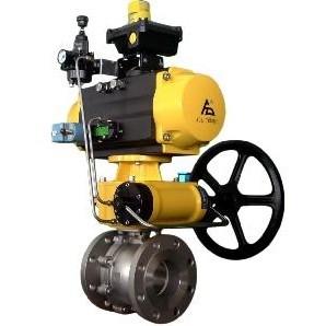 All Torque Control Flange Ball Valve Dn15 To Dn400