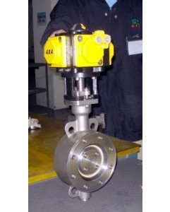 All Torque Or Customized Of Ball Valve Actuated By Pneumatic 4 Piston Actua