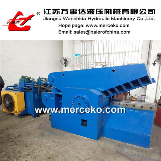 Alligator Shear Hydraulic Metal