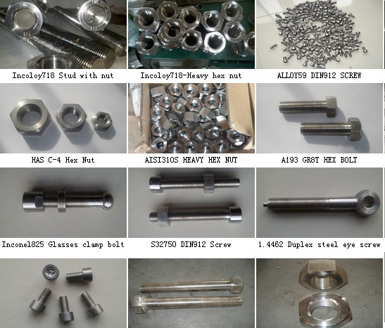 Alloy Steel Parts Bolts Nuts