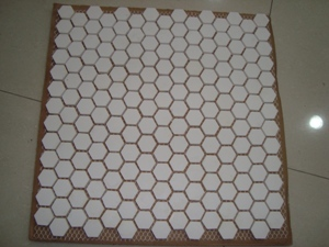 Alumina Ceramic Hexagon Tile