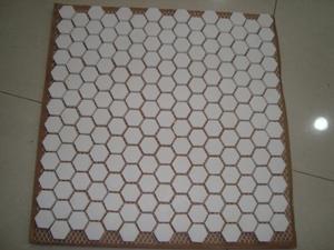 Alumina Ceramic Hexagon Tile
