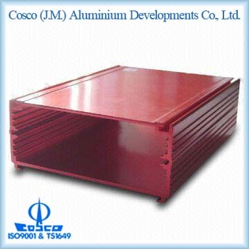 Aluminium Box With Red Anodizing
