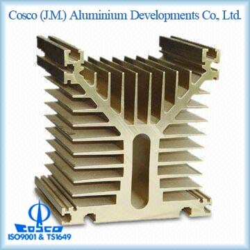 Aluminium Extrusion For Electronic Electrical Heatsink