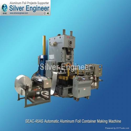 Aluminium Foil Container Making Machine 65288 Seac 55as 65289