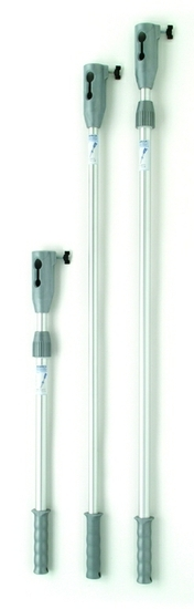 Aluminium Paint Extension Pole Fixed Head