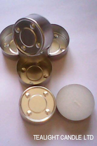 Aluminium Tealight Cups For Candle Holder