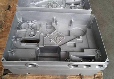 Aluminum Alloy Die Casting Prototype Frame Cover