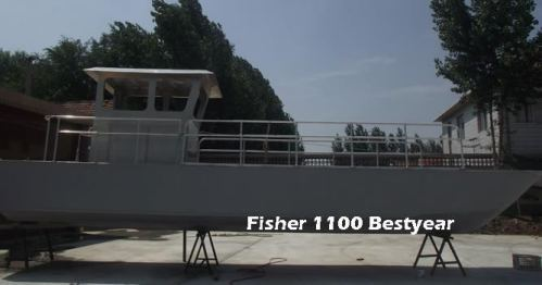 Aluminum Fisher 1100 Boat