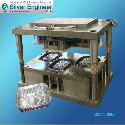 Aluminum Foil Container Cavities Mould 65288 65289