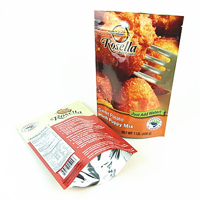 Aluminum Foil Food Packaging Pouch Bag