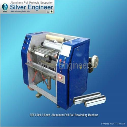 Aluminum Foil Rewinding Machine Sefj 500